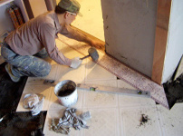 泥瓦工程施工标准图片