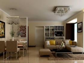 2013现代简约风格客厅装修图