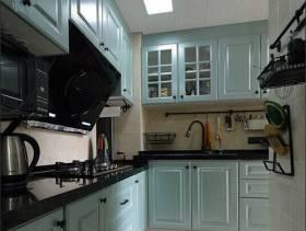 简约欧式风格厨房装修图片-简约欧式风格橱柜图片