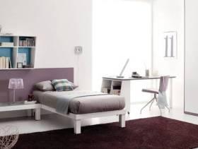简约风格卧室创意收纳装修效果图-简约风格实木家具衣柜图片
