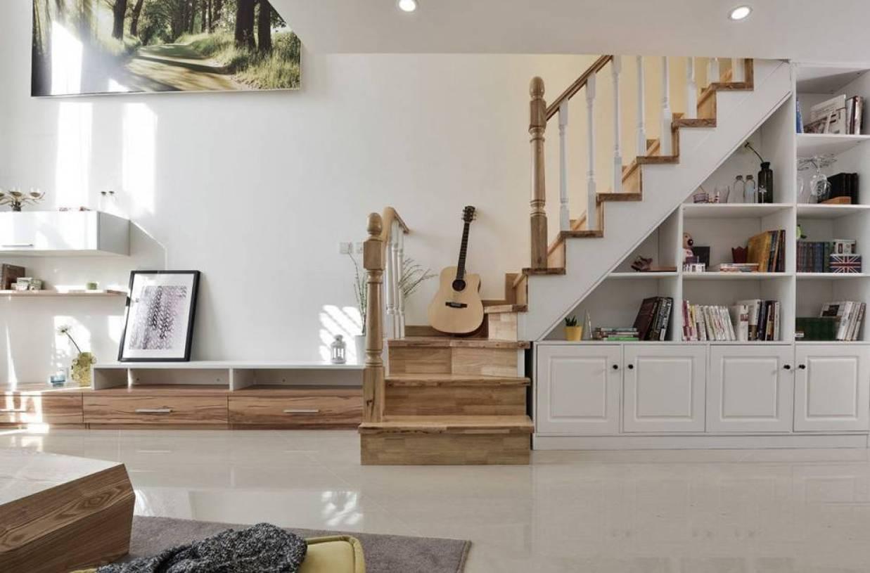 楼梯下柜子设计效果图