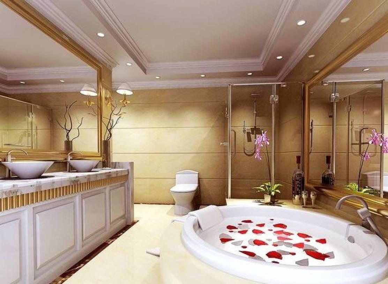 欧式风格大户型浴室装修效果图
