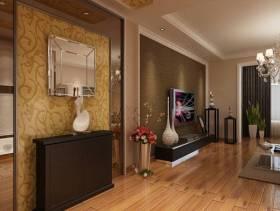 139平米现代风格客厅电视背景墙装修效果图,现代风格电视柜图片