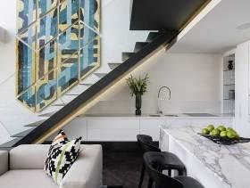 245㎡现代风格复式楼复式楼梯装修效果图