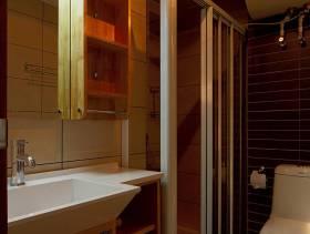 150m²二居室现代简约风格卫生间淋浴房装修图片