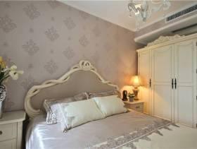简欧风格卧室床头背景墙装修图片-简欧风格实木家具衣柜图片