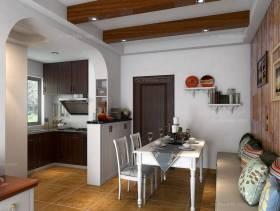 具有开放式厨房餐厅(6.8平)