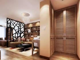 现代风格一居室客厅吊顶装修效果图