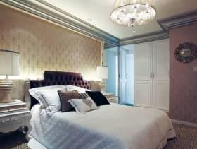 欧式风格大户型主卧室吊顶装修效果图