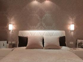 42平方米轻古典一居室客厅装修效果图