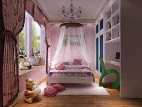 时尚个性的女生卧室装修设计