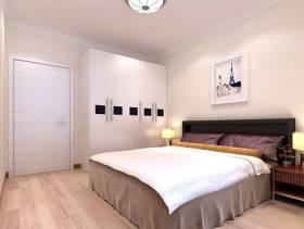 次卧室白色衣柜图片