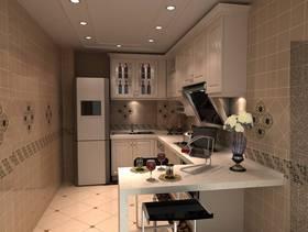 小型厨房整体装修效果图