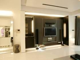 165平现代简约风格四居客厅电视背景墙装修图片