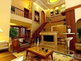 300平米别墅欧式风格客厅电视背景墙装修效果图,欧式风格茶几图片