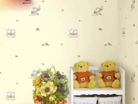 现代简约风格女生卧室壁纸图片
