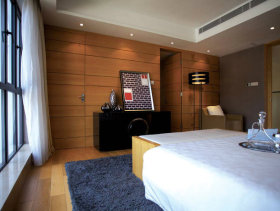 400平后现代风格联排别墅客厅装修效果图