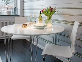 北欧风格餐厅背景墙装修效果图-北欧风格餐椅图片