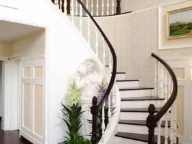 地中海风格复式楼梯装修图片