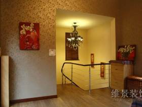 120平米简约风格复式楼楼梯装修效果图