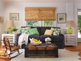 简约风格客厅装修图片-简约风格沙发图片