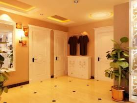 欧式风格三居室门厅效果图