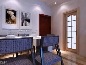 现代风格餐厅背景墙装修效果图-现代风格厨房门图片