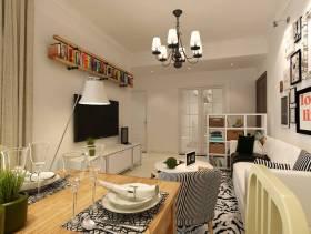 小户型开放式客厅装修效果图
