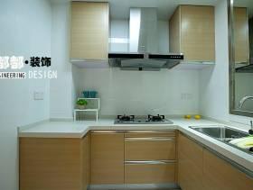 简洁自然的厨房设计