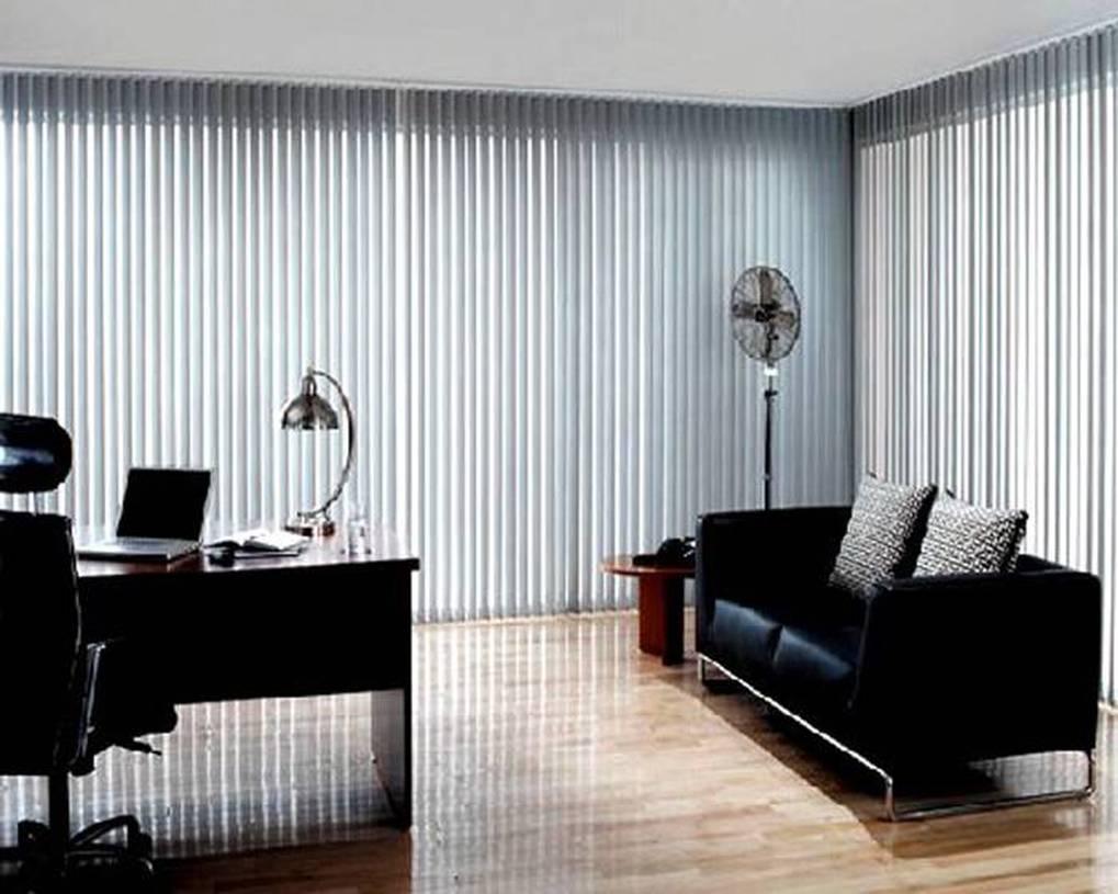 现代风格办公室窗帘装修图片-现代风格双人沙发图片