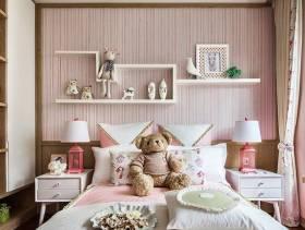 粉色浪漫的女生卧室设计