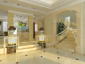 欧式风格复式楼梯装修效果图