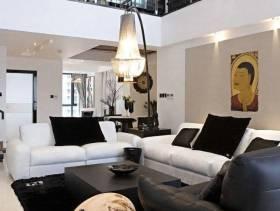 现代简约风格别墅客厅装修图片,现代简约风格沙发图片