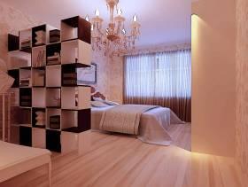 欧式风格复式卧室装修效果图