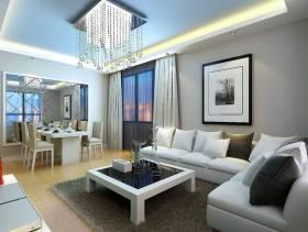 2013现代风格客厅沙发效果图