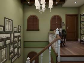 210㎡复式楼简约欧式楼梯装修效果图