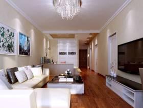 简约风格客厅沙发背景墙装修效果图-简约风格沙发图片