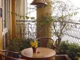 美式风格小户型阳台花园装修效果图