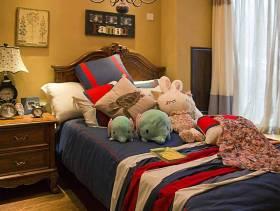 温馨可爱的美式儿童卧室设计