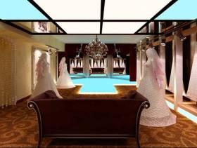 欧式风格婚纱店装修效果图-欧式风格沙发图片