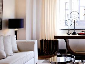现代简约风格起居室效果图