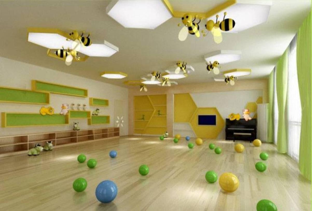 简约风格幼儿园教室布置效果图