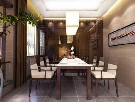 2013最新现代风格餐厅效果图