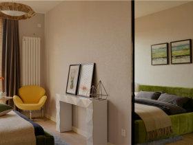 60平地中海风格一居室装修效果图