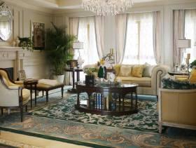 2013经典混搭装修之客厅实拍图