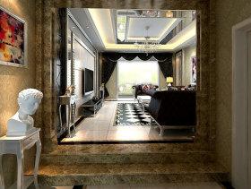 230平现代3室2厅女生卧室装修效果图