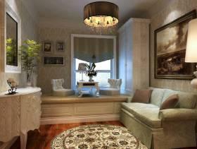 欧式风格起居室装修效果图