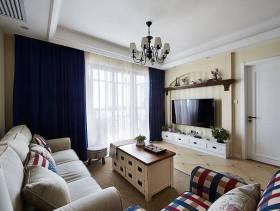 小户型客厅电视背景墙装修图片