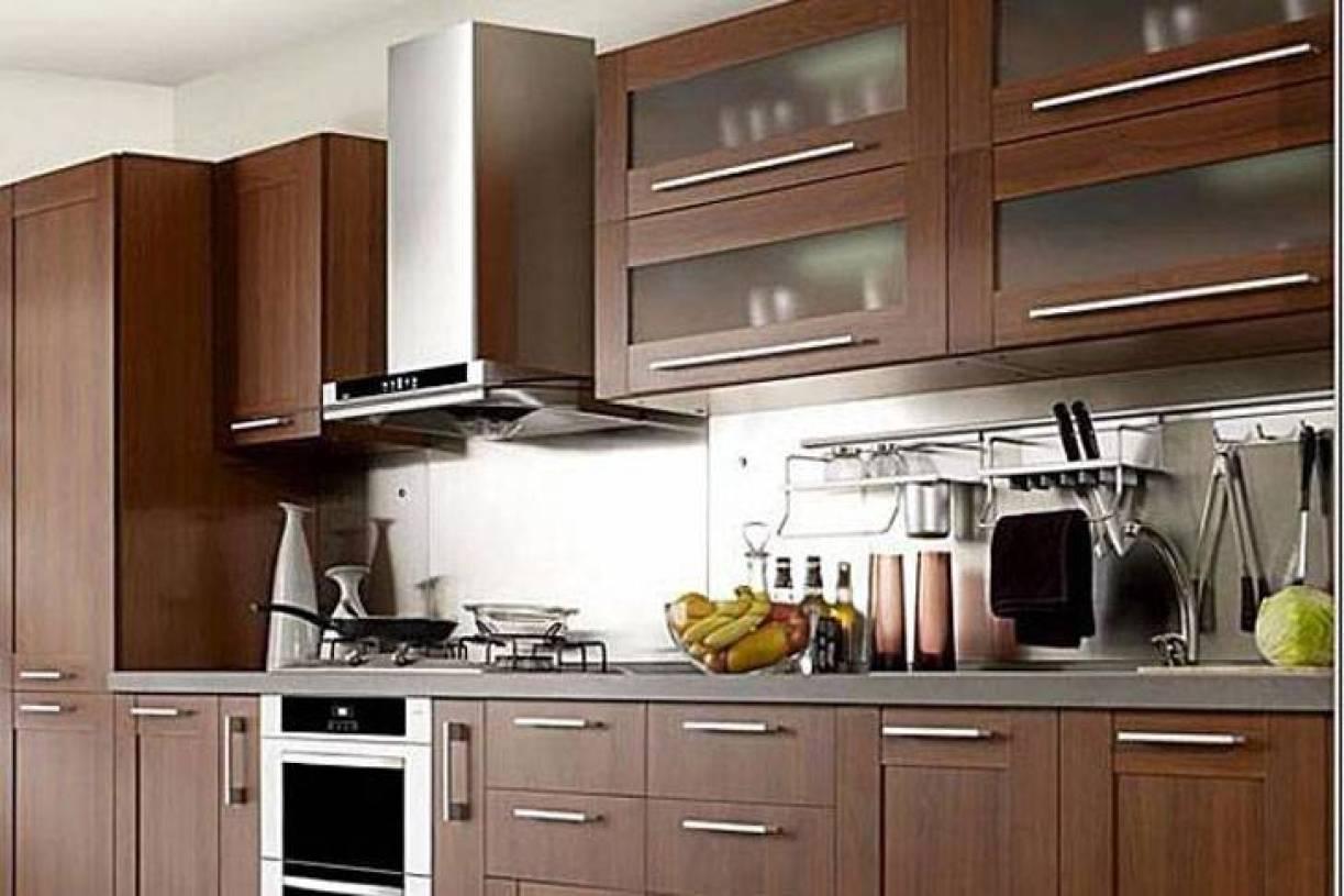 新中式风格厨房装修效果图-新中式风格橱柜图片