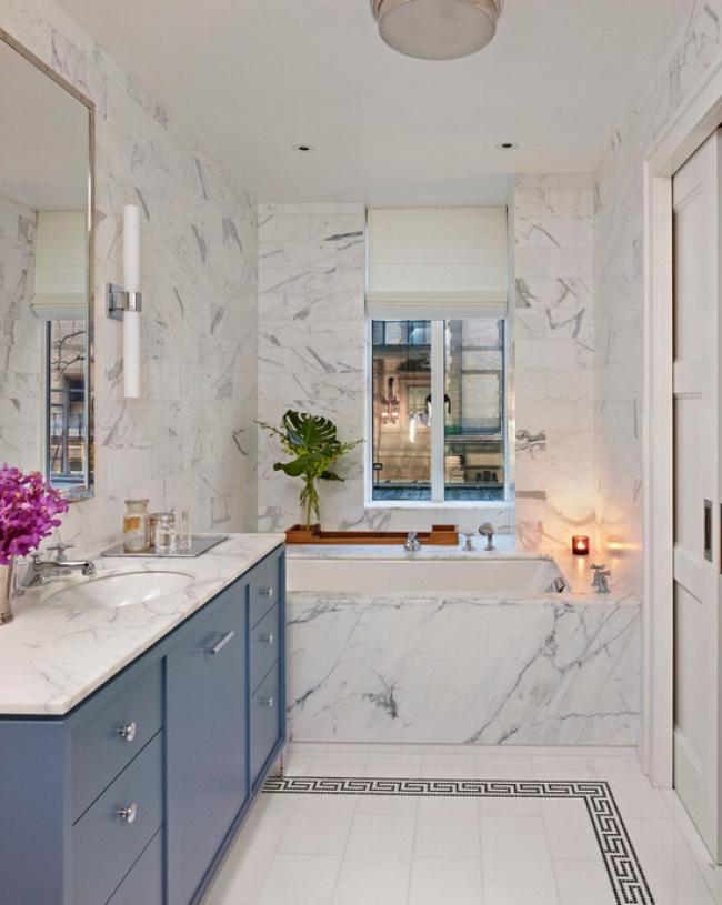 现代简约风格浴室装修图片-现代简约风格面盆柜图片